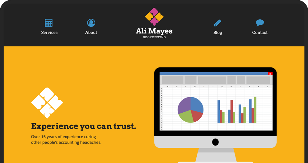 Ali Mayes Web Site