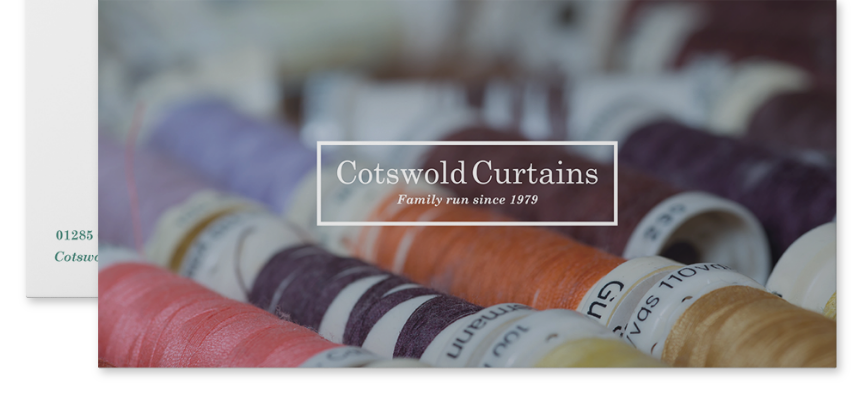 Cotswold Curtains Compliment Slips