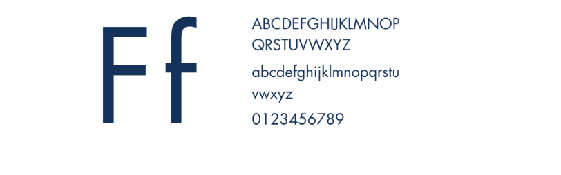 Data Privacy Group Font Selection