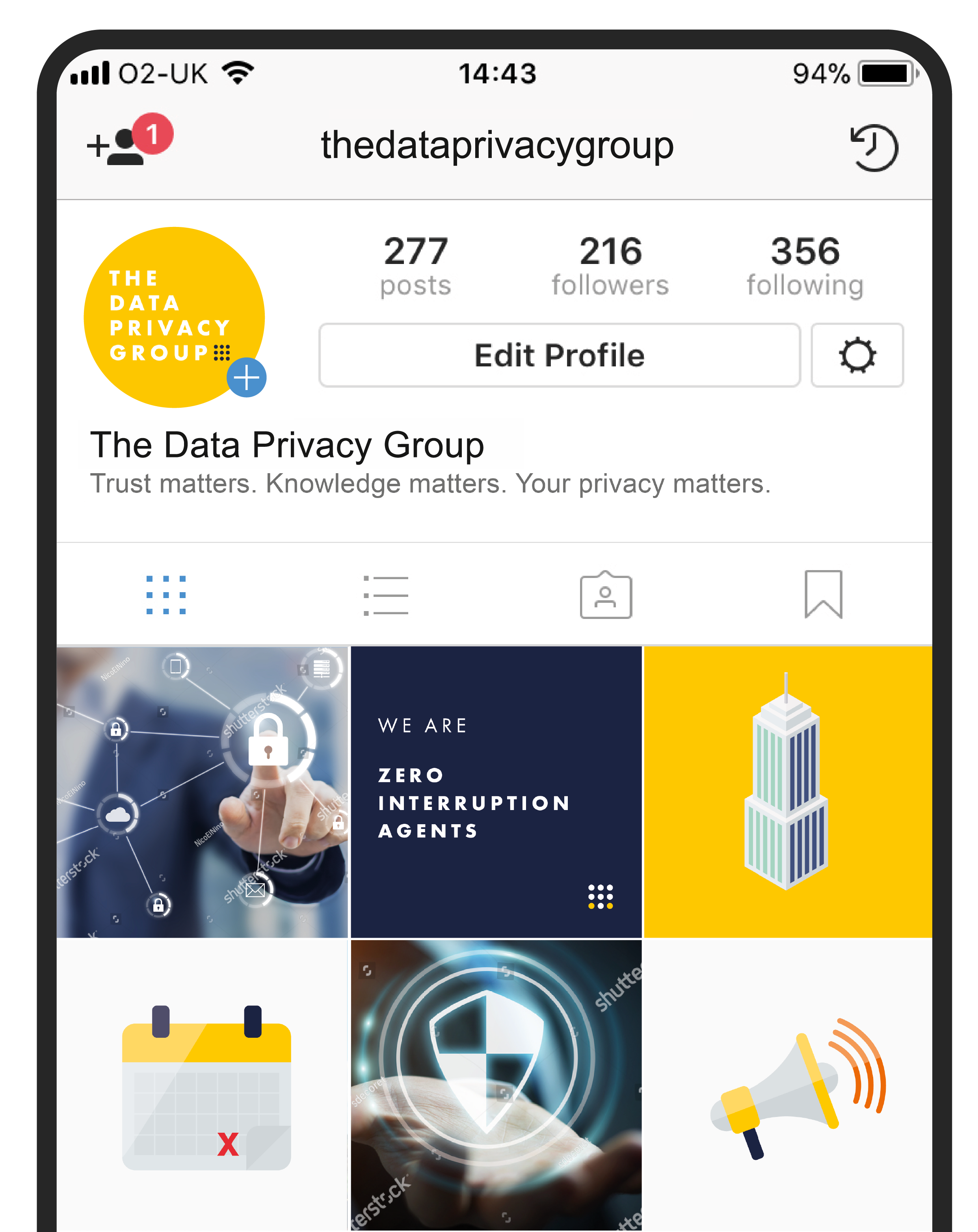 Data Privacy Group Instagram