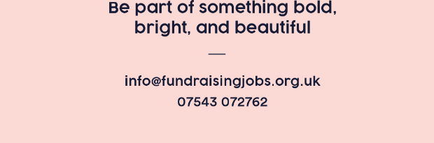 Fundraising Jobs Business Card (Back)