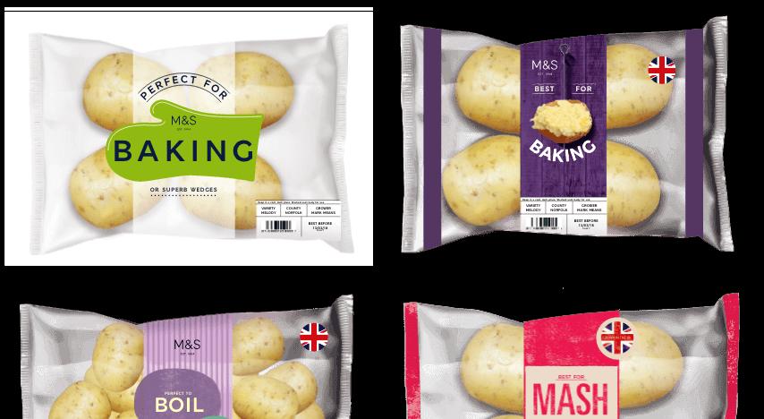 Marks & Spencer Packaging