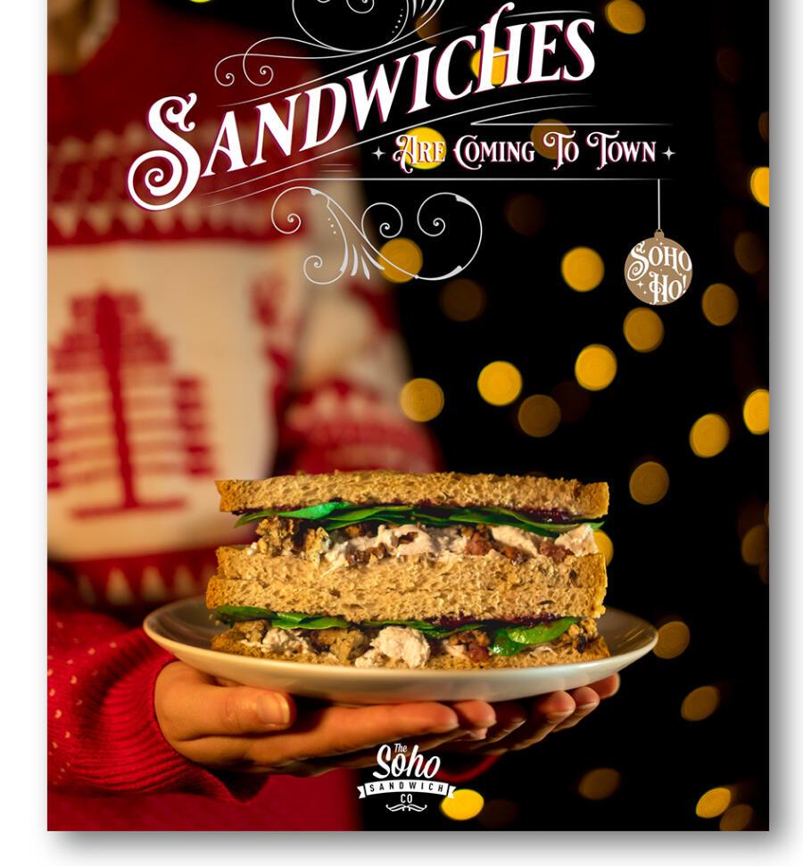 Soho Sandwich Co. Christmas Range