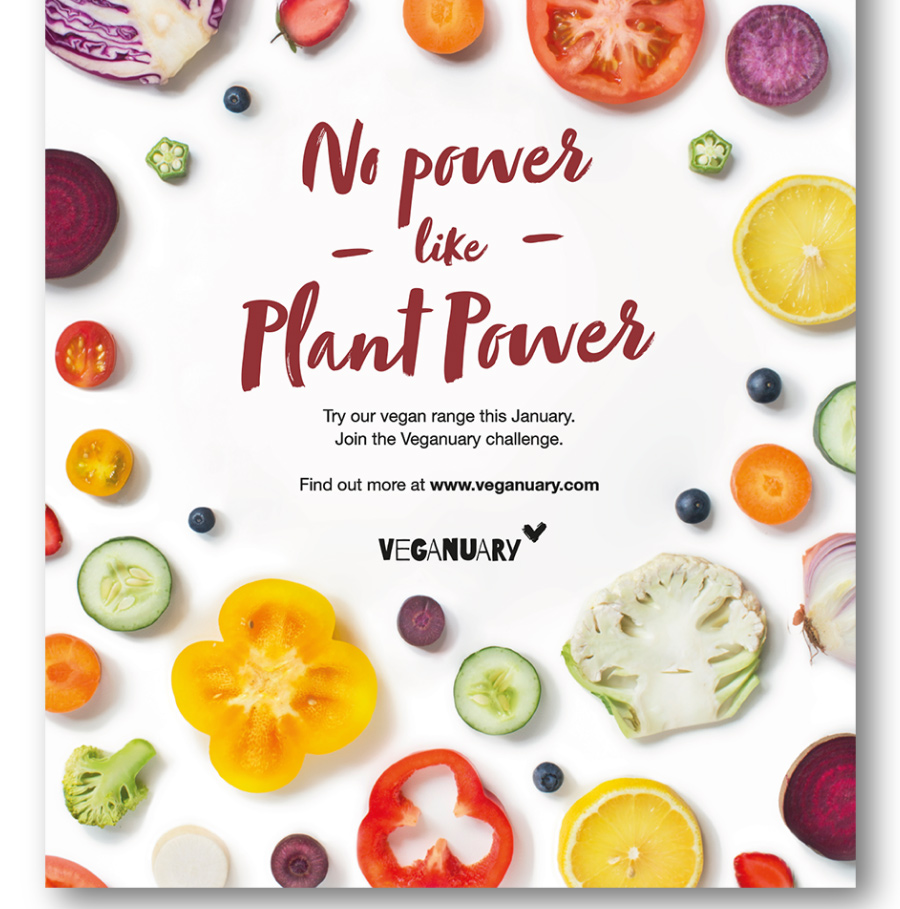 Soho Sandwich Co. Vegan Range Poster
