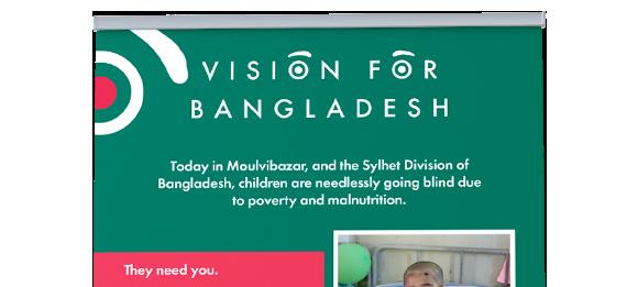 Vision for Bangladesh Banner