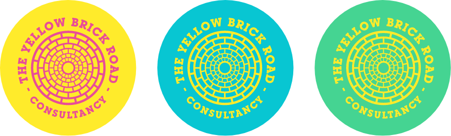 Yellow Brick Road Logo Roundels