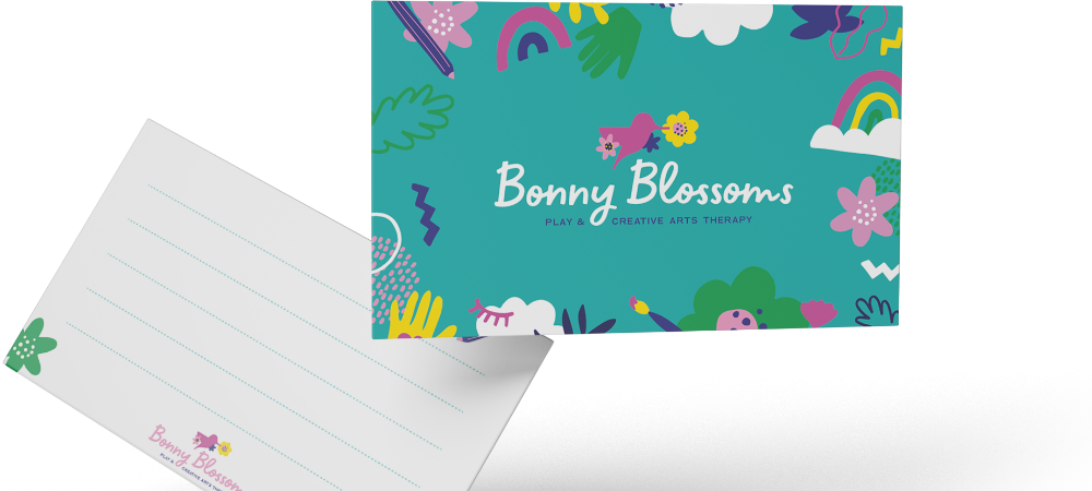Bonny Blossoms Appointment Card