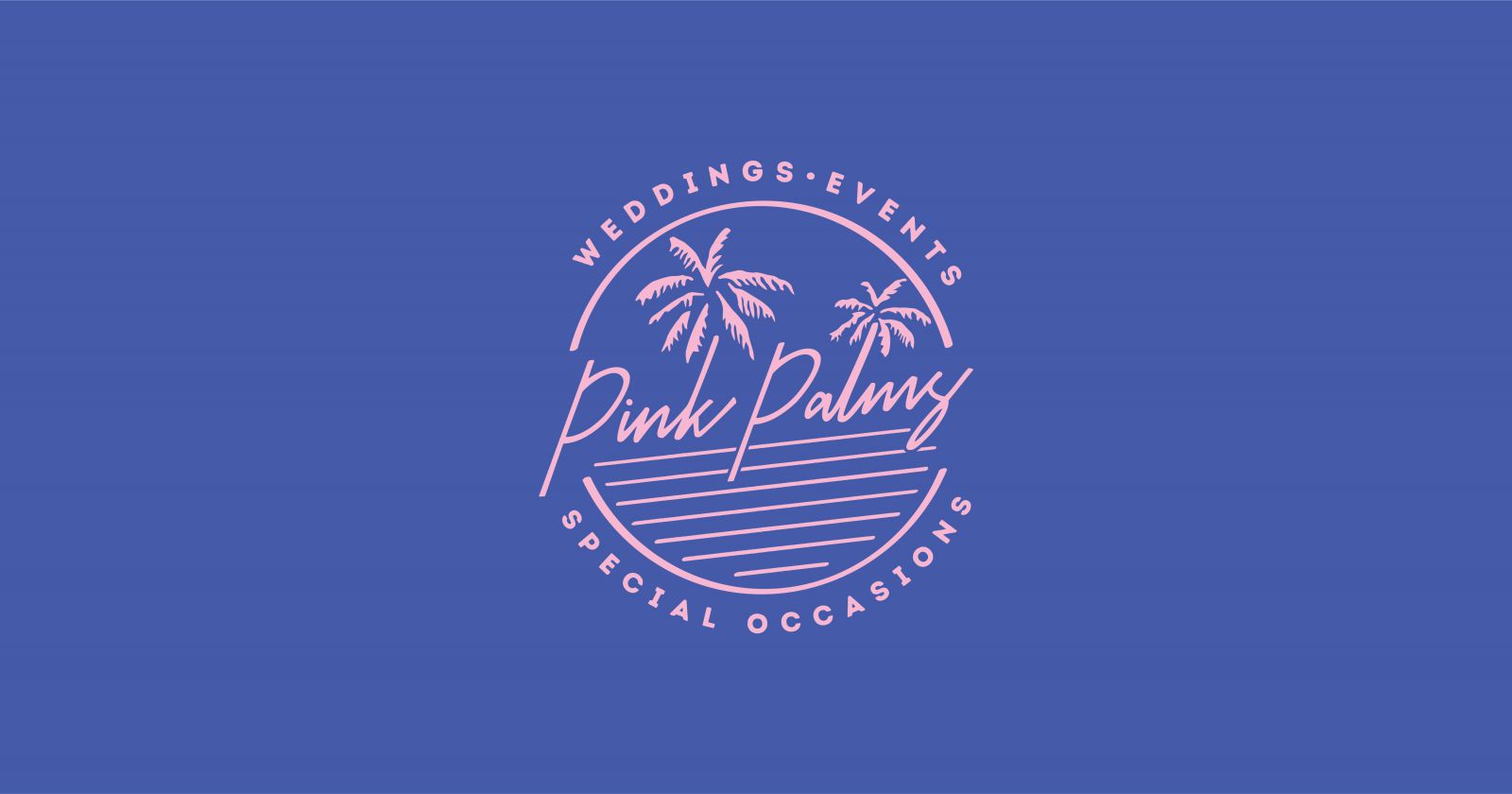 Working With Pink Palms